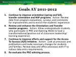 goals ay 2011 20126