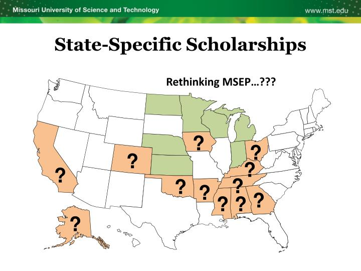 State-Specific Scholarships