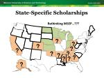 state specific scholarships