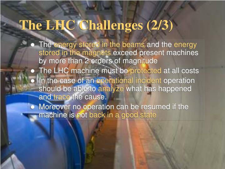 The LHC Challenges (2/3)