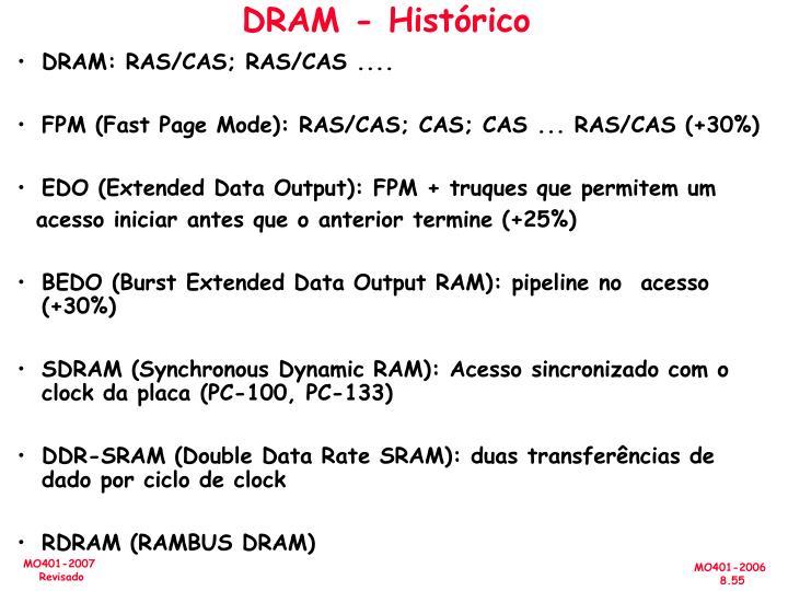 DRAM - Histórico