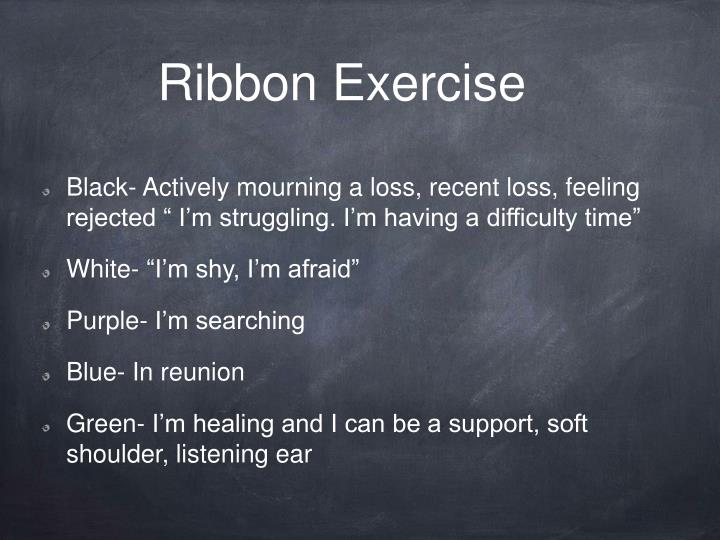 Ribbon Exercise