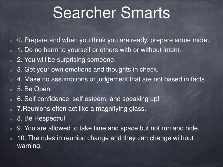 Searcher Smarts