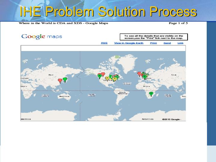 IHE Problem Solution Process