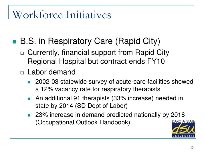 Workforce Initiatives