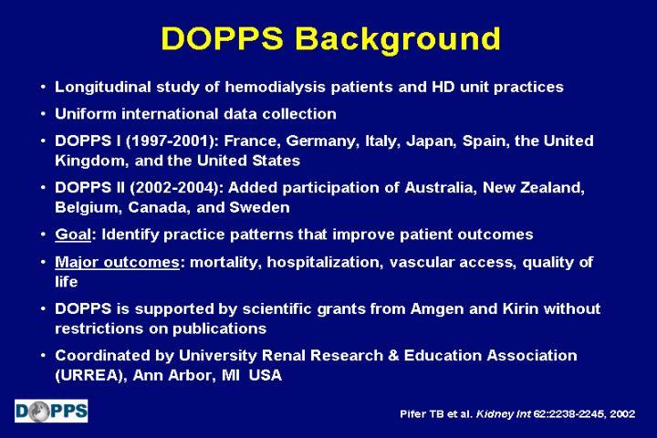 DOPPS Background