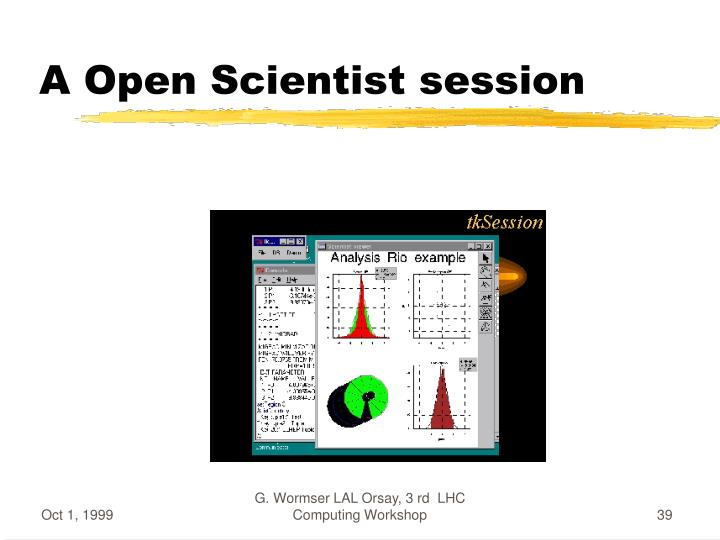 A Open Scientist session