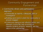 community engagement and partnerships1