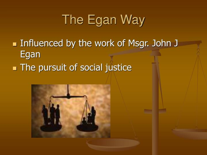 The Egan Way