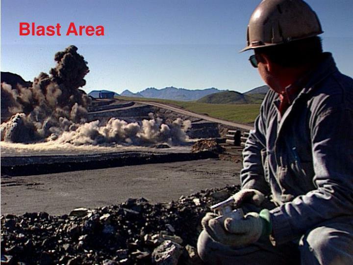 Blast Area