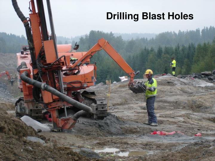 Drilling Blast Holes