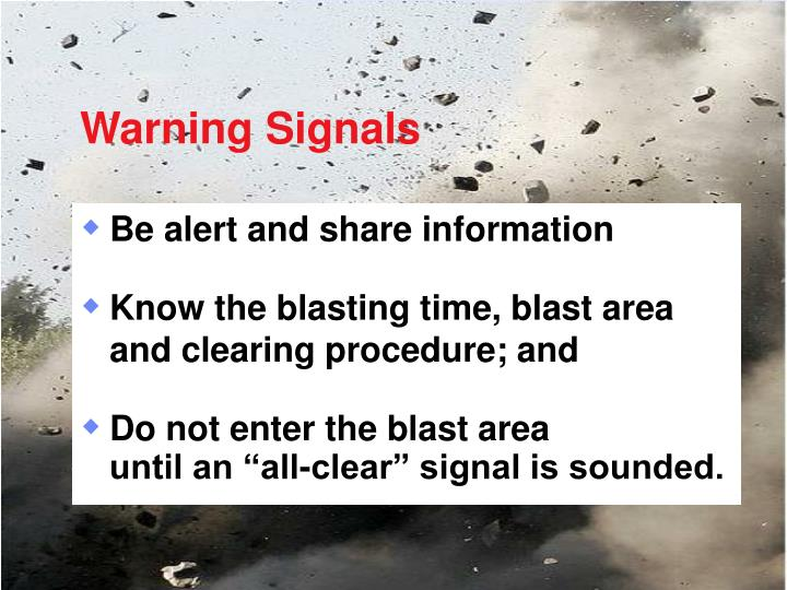 Warning Signals