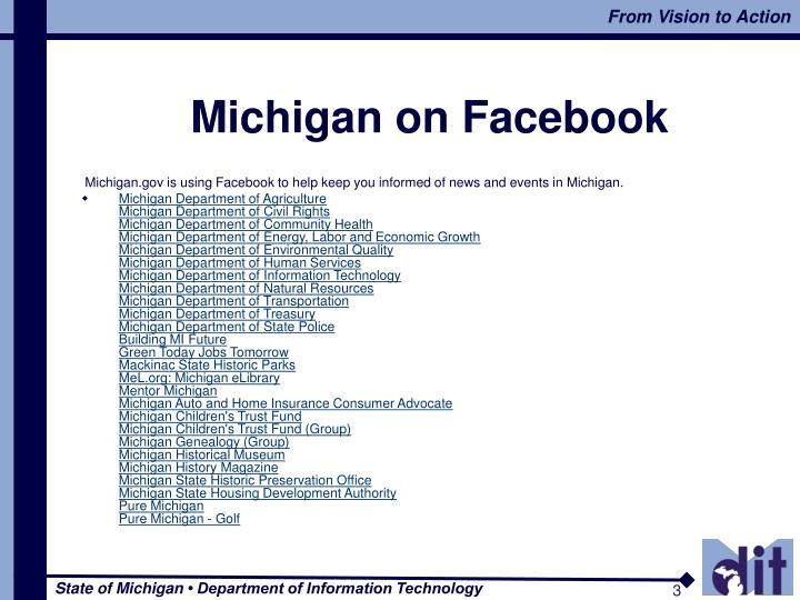 Michigan on Facebook
