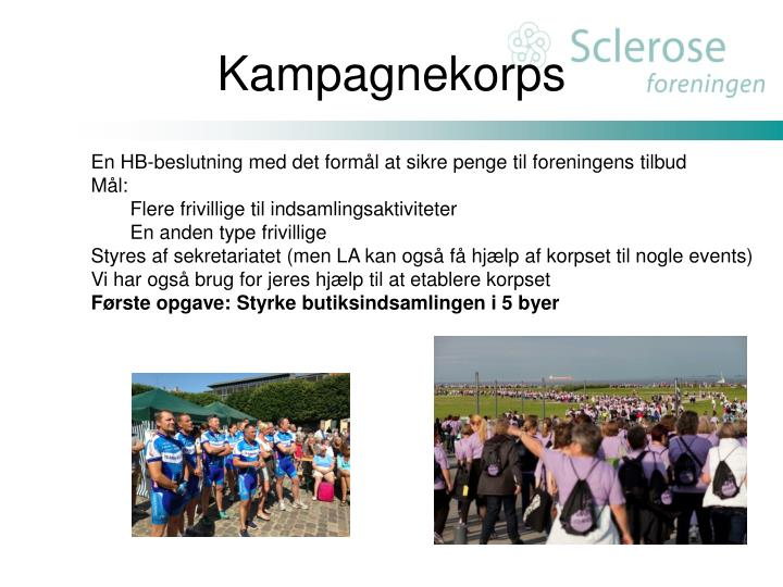 Kampagnekorps