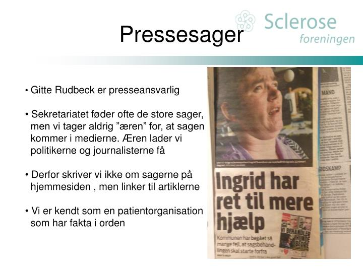 Pressesager