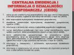 centralna ewidencja i informacja o dzia alno ci gospodarczej ceidg2