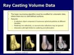 ray casting volume data