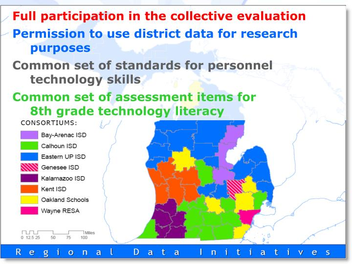 Full participation in the collective evaluation