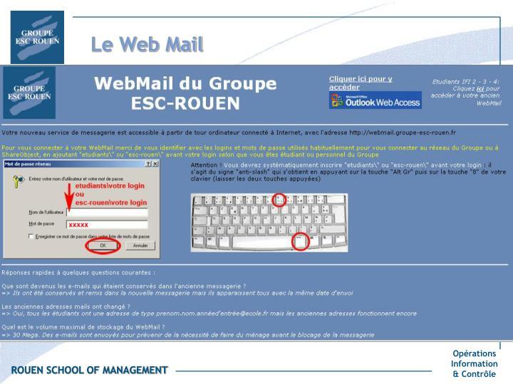 Le Web Mail