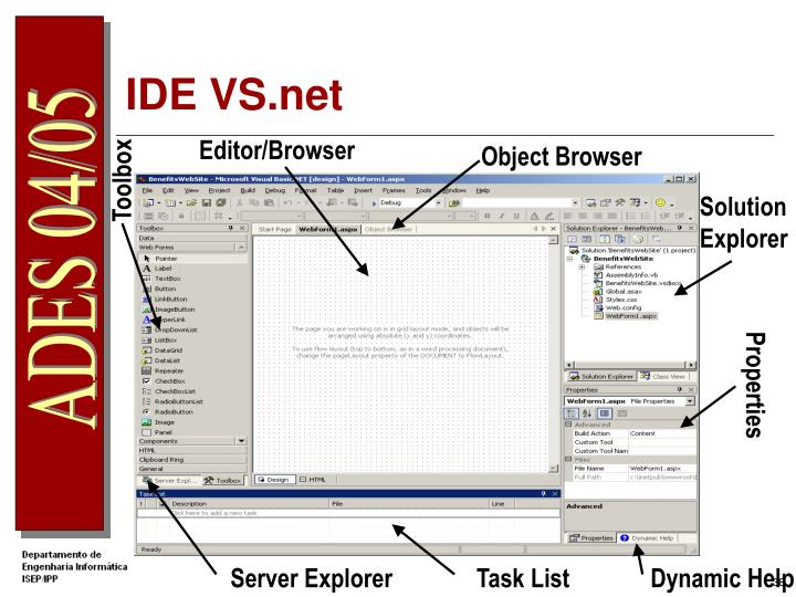 IDE VS.net