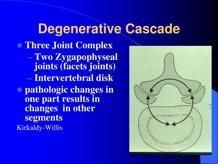 Degenerative Cascade