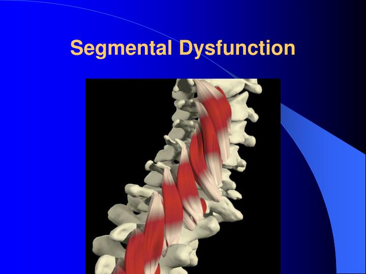 Segmental Dysfunction
