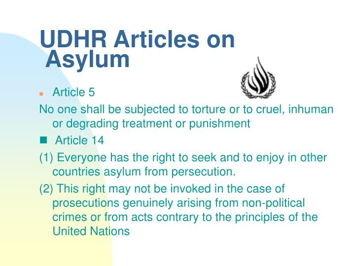 UDHR Articles on