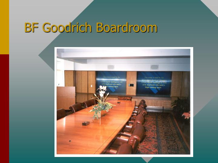 BF Goodrich Boardroom