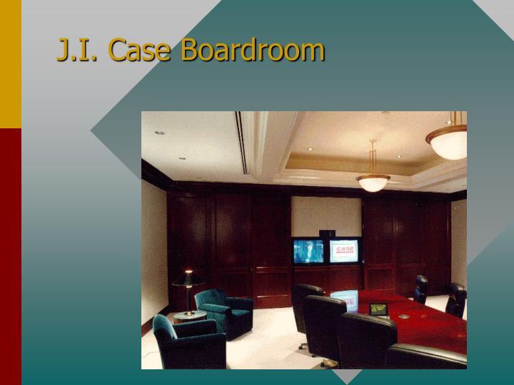 J.I. Case Boardroom