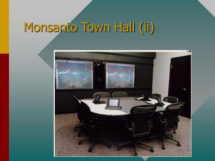 Monsanto Town Hall (ii)