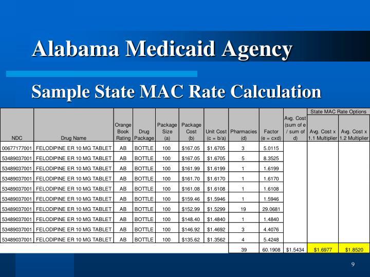 Alabama Medicaid Agency