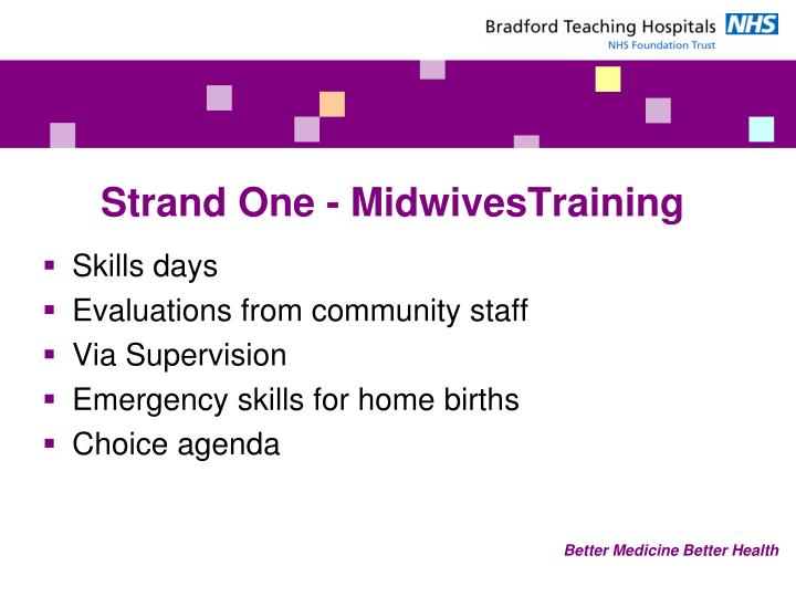 Strand One - MidwivesTraining