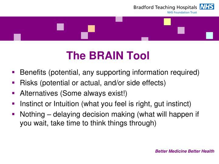 The BRAIN Tool