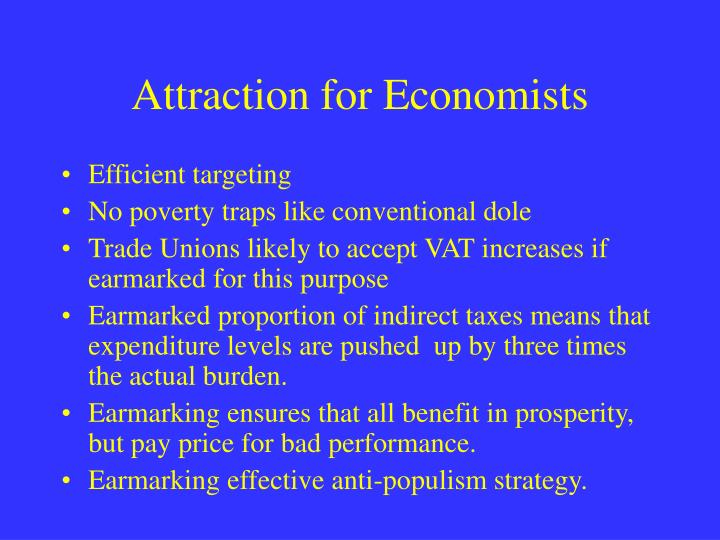 Attraction for Economists