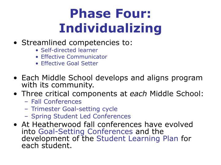 Phase Four: