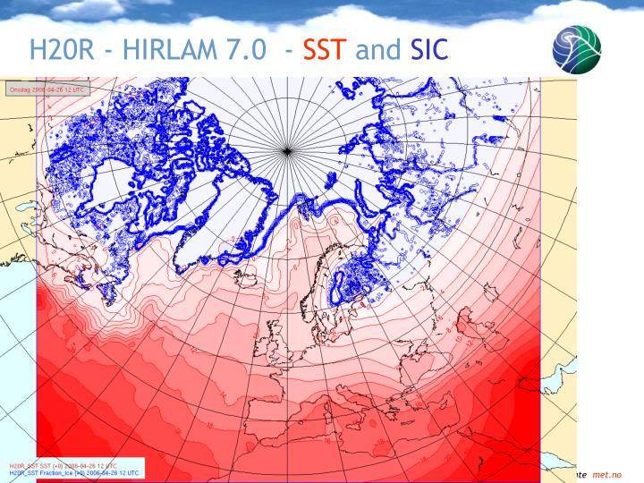 H20R - HIRLAM 7.0  -