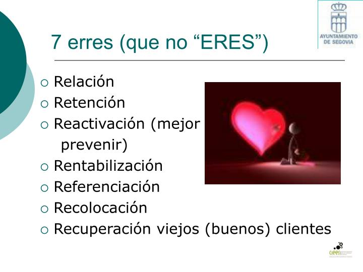 "7 erres (que no ""ERES"")"