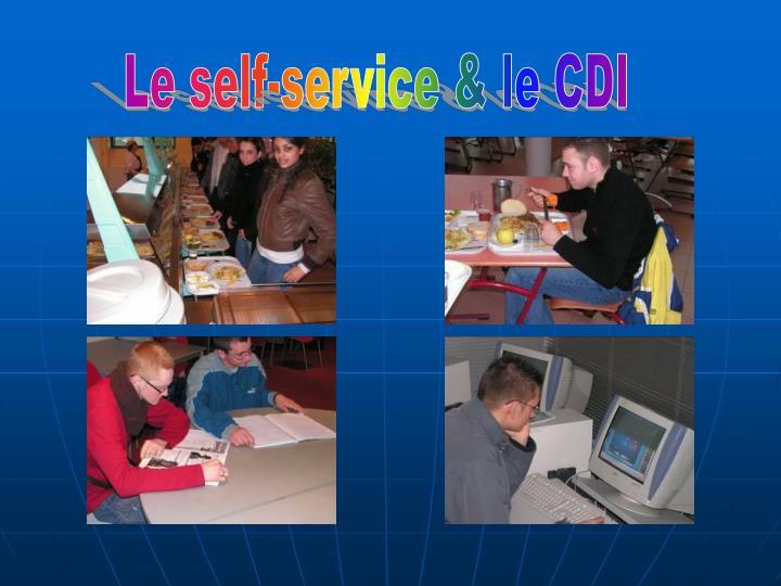 Le self-service & le CDI