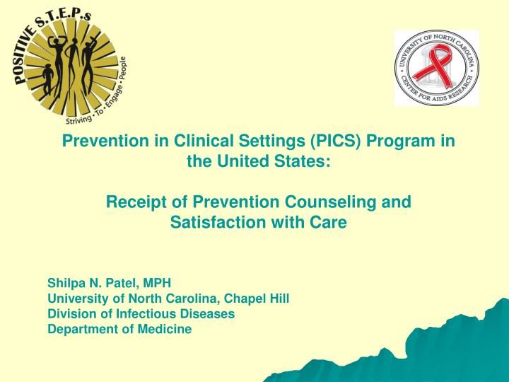 Prevention in Clinical Settings (PICS) Program in the United States: