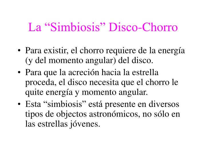 "La ""Simbiosis"" Disco-Chorro"