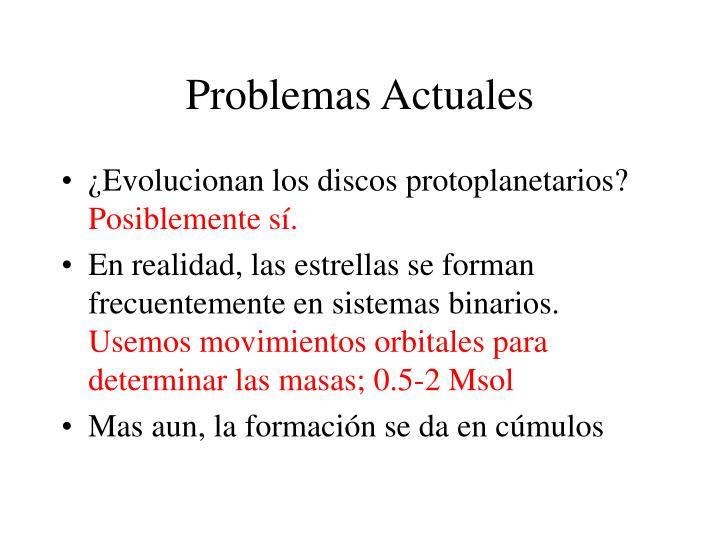 Problemas Actuales