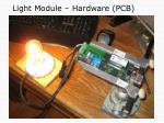 light module hardware pcb
