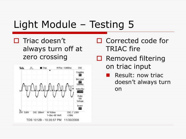 Triac doesn't always turn off at zero crossing