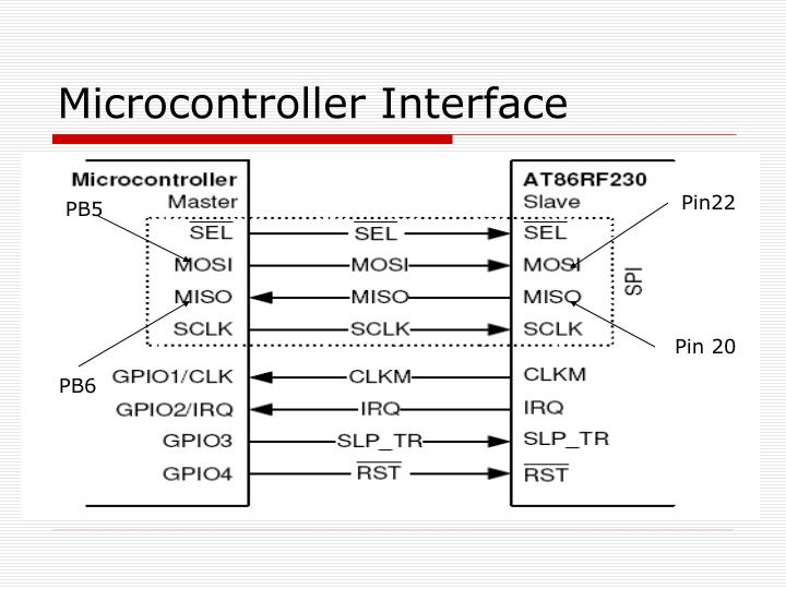 Microcontroller Interface