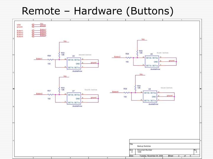 Remote – Hardware (Buttons)