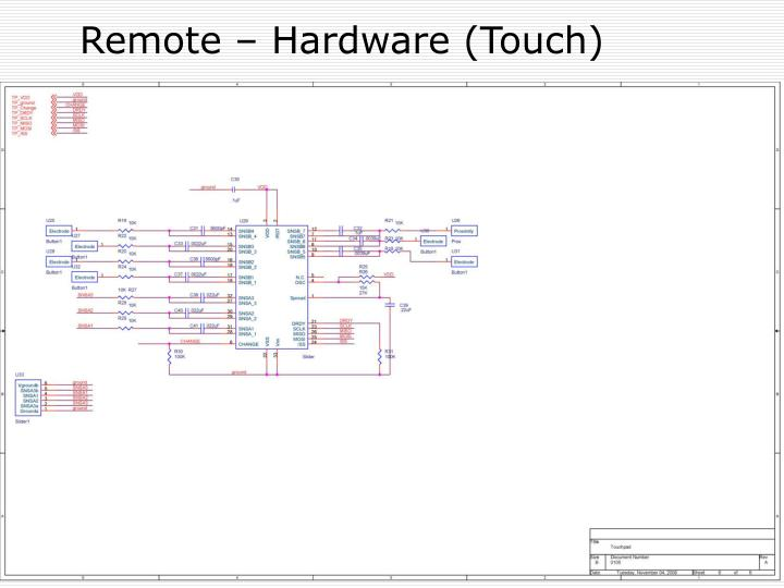 Remote – Hardware (Touch)
