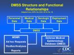 dmss structure and functional relationships adapted from ajph dec 2002 vol 92 no 124