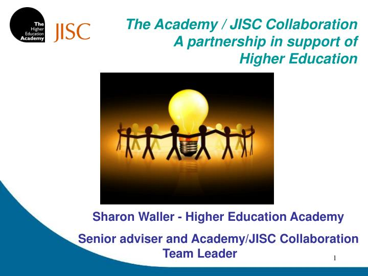 The Academy / JISC Collaboration