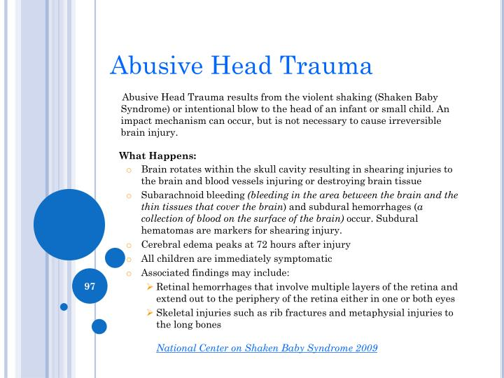 Abusive Head Trauma