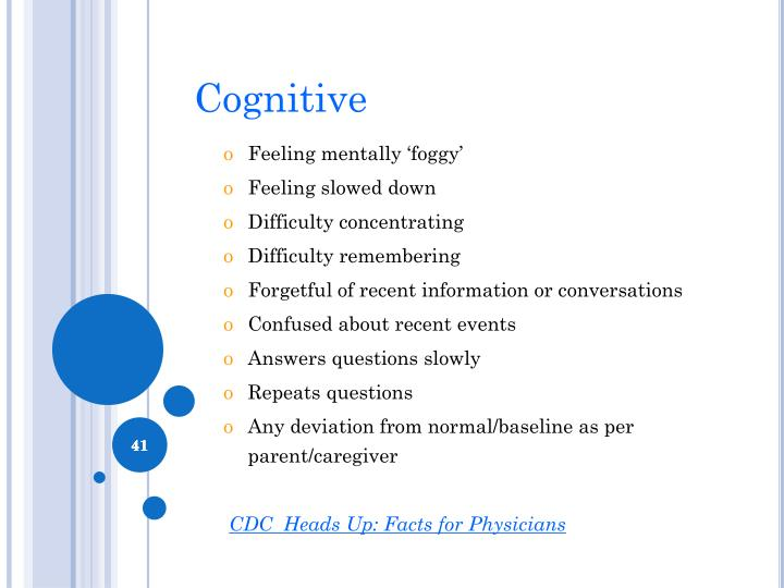Cognitive